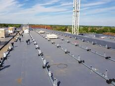 1. Mounting Fitted to Roof