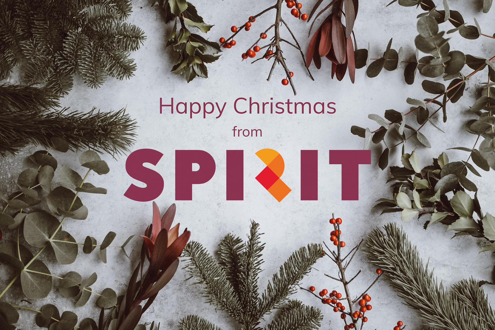 Happy Christmas from Spirit