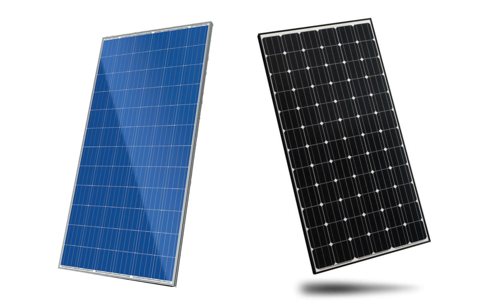 Black solar panels vs blue (1)