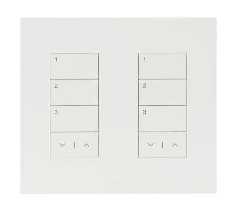 Palladiom Keypad White Glass