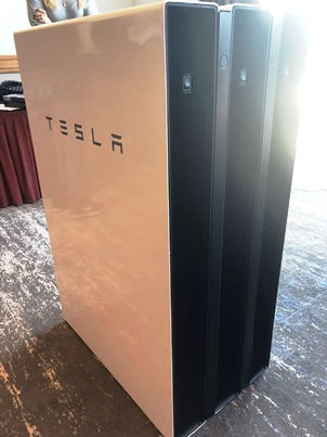 Stacked Powerwall 2