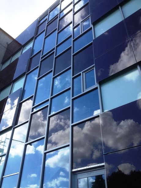 solar curtain wall