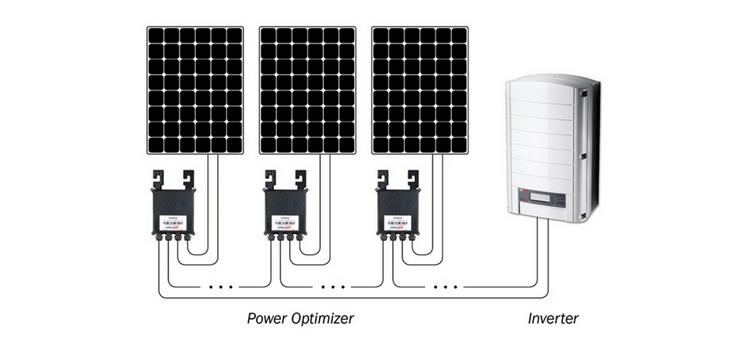 SolarEdge optimiser schematic