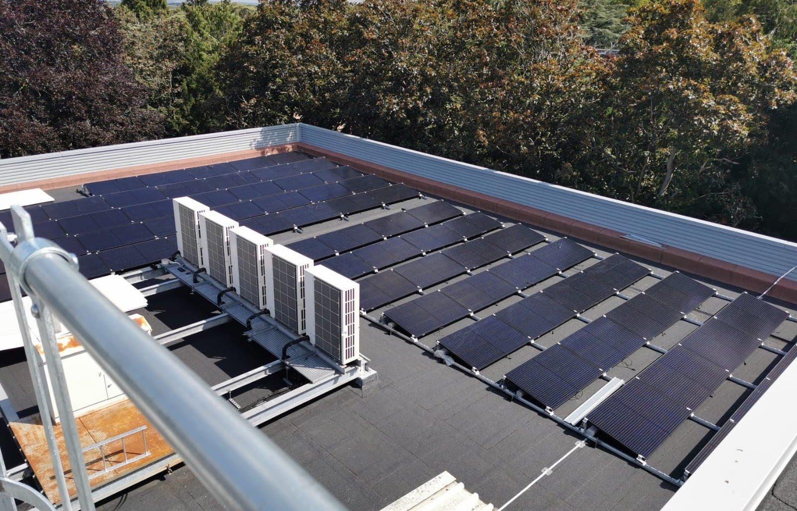 Natural History Museum solar panels