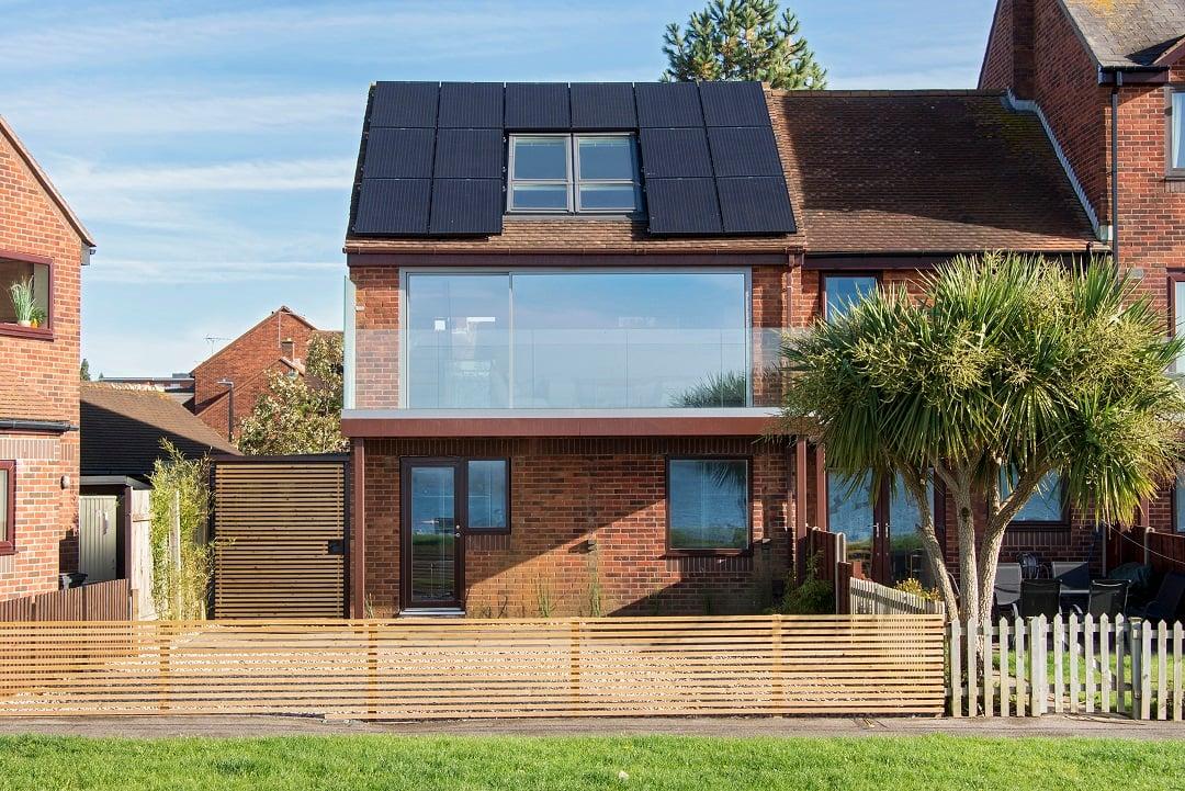Poole solar PV array