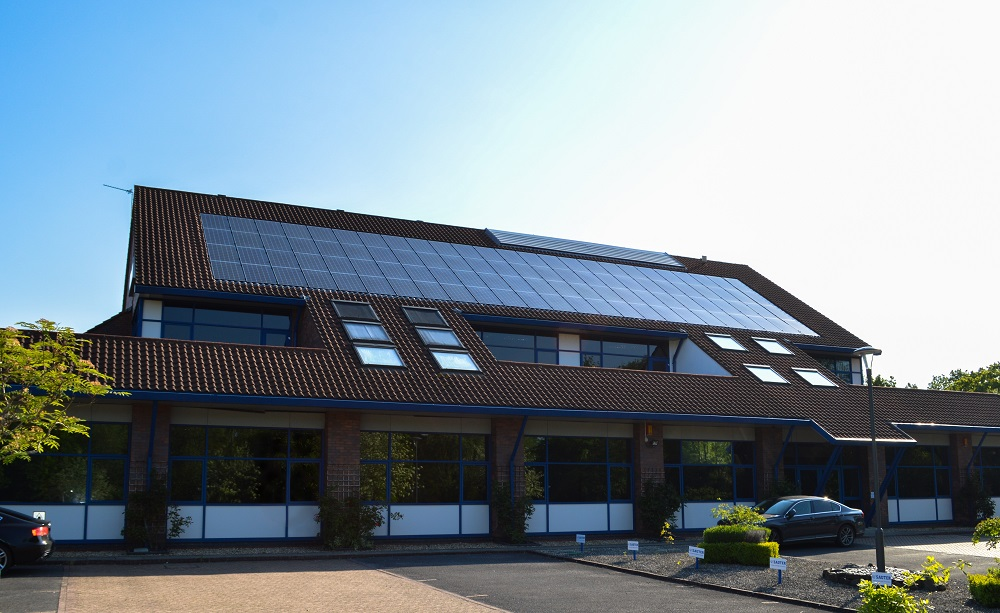 solar PV on commercial building