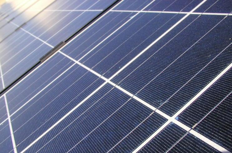 Solar panel clipping