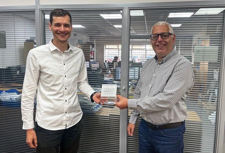 Spirit wins Tesla award