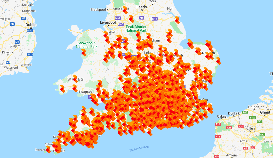 Spirit install map