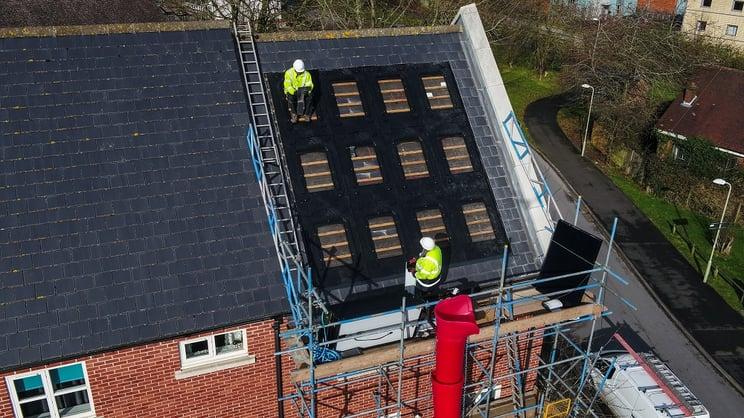 installing solar PV in lockdown