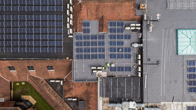 solar panel business rates