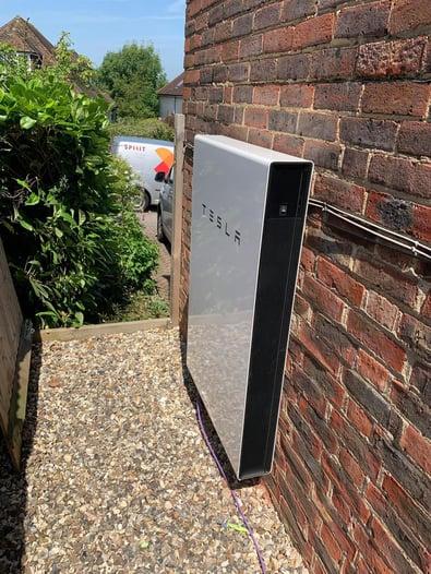 Tesla Outside