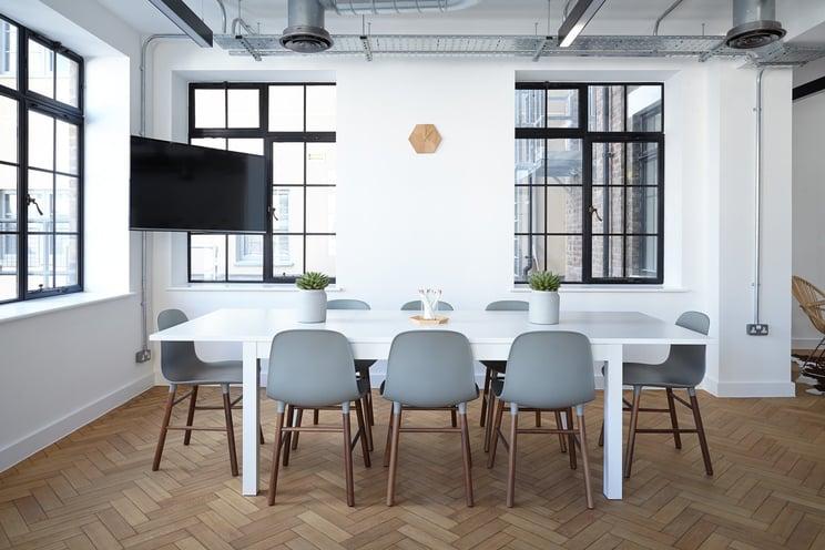 empty office energy upgrade