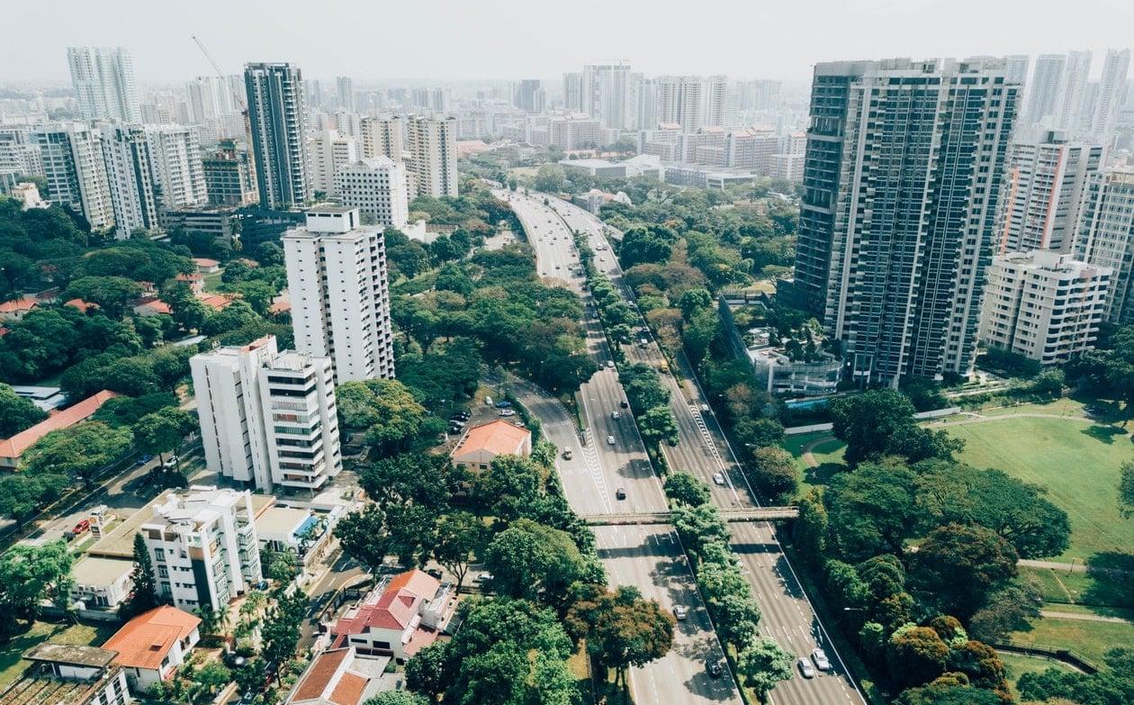 green city streets