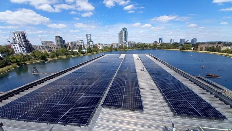 west reservoir centre solar pv