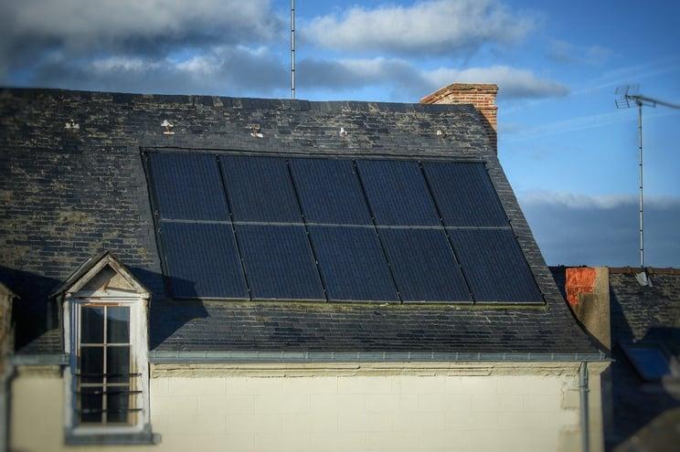 solar panel shading
