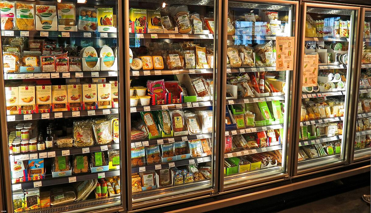 supermarket fridges